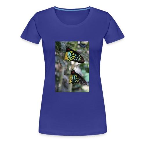Blue and Yellow Pair - Women's Premium T-Shirt