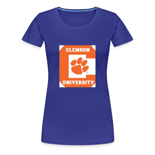 Clemson University Logo 1 - Women's Premium T-Shirt