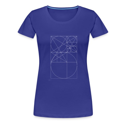 The Golden Rule - White - Women's Premium T-Shirt