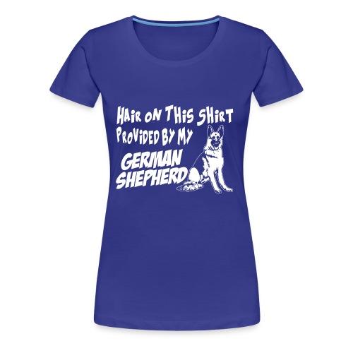 01 hair on this shirt - Women's Premium T-Shirt