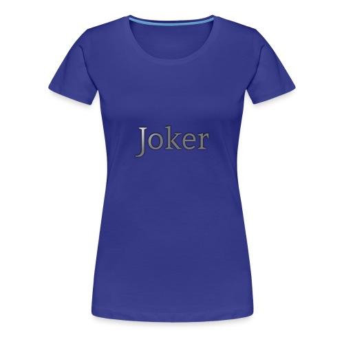 joker Apperal - Women's Premium T-Shirt
