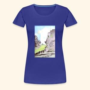 LANDSCAPE MULTI COLOUR - Women's Premium T-Shirt