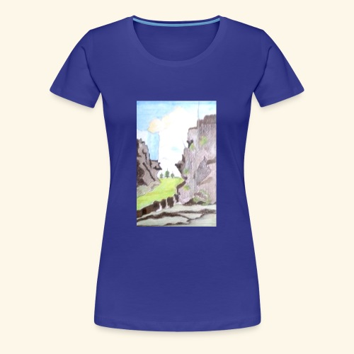 LANDSCAPE MULTI COLOUR - Women's Premium T-Shirt
