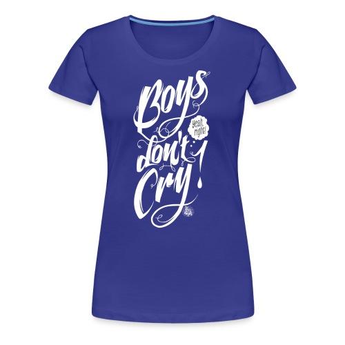 boys dont cry white - Women's Premium T-Shirt
