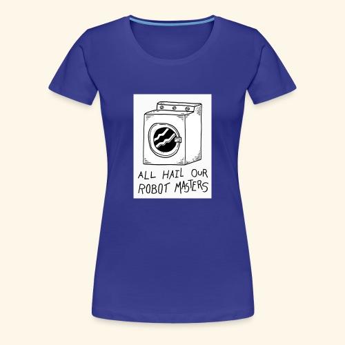 The Aalam Dzign's - Women's Premium T-Shirt