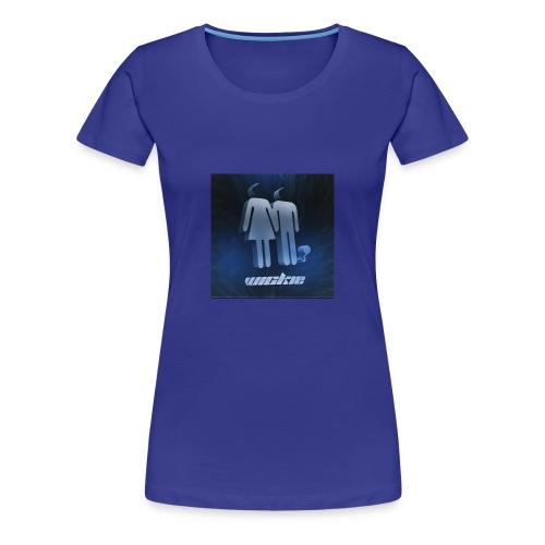 Wickie Logo - Women's Premium T-Shirt