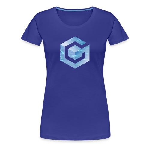 Vaporwave Gamecube - Women's Premium T-Shirt