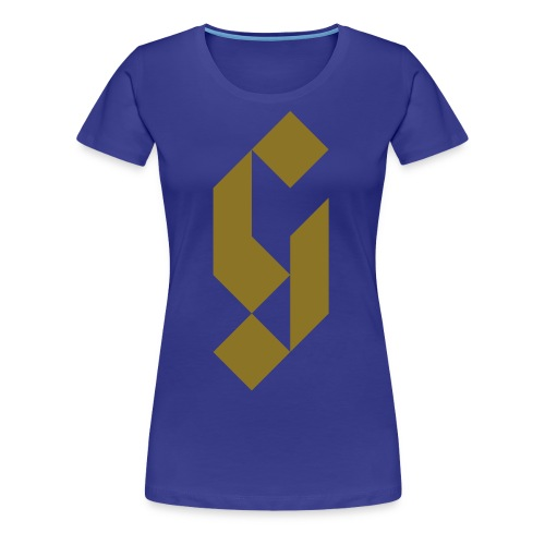G Initial Glmn Logo - Women's Premium T-Shirt