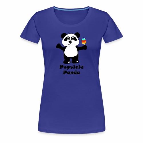 Popsicle Panda - Women's Premium T-Shirt