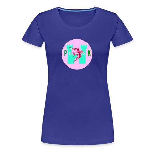 Pink Phoenix Kingdom Logo - Women's Premium T-Shirt