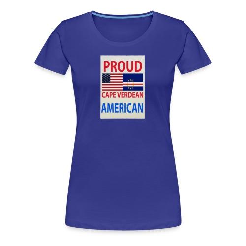 Proud cape verdian flag - Women's Premium T-Shirt