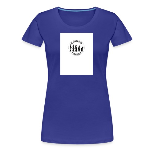 Darwins Theories Logo - Women's Premium T-Shirt