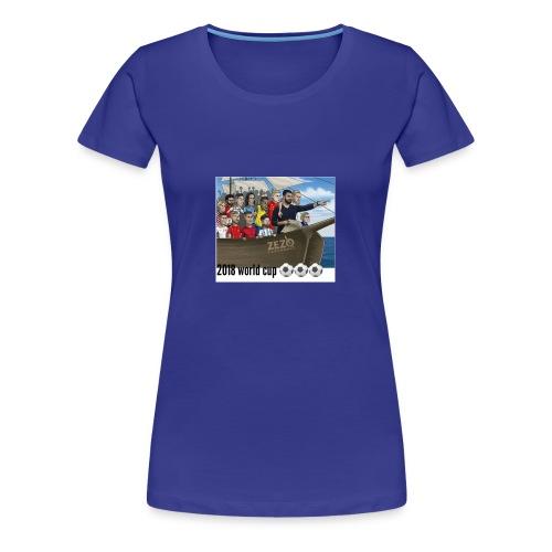 world cup - Women's Premium T-Shirt