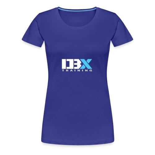 DB X Training logo white - Women's Premium T-Shirt