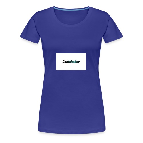 Captain Nav Logo - Women's Premium T-Shirt
