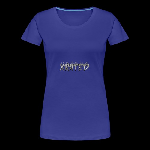 xrated metal - Women's Premium T-Shirt