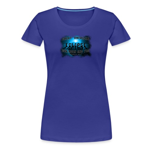 Total Solar Eclipse Summer August 21st 2017 - Women's Premium T-Shirt