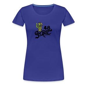 animal cartoon - Women's Premium T-Shirt