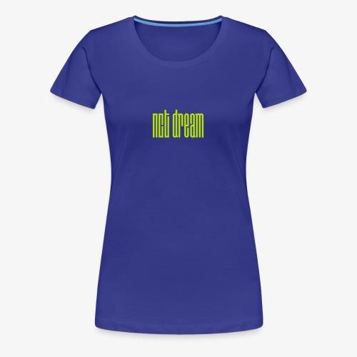 NCT Dream Logo Green - Women's Premium T-Shirt