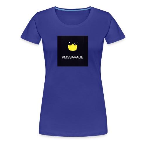 #MSSAVAGE merch - Women's Premium T-Shirt