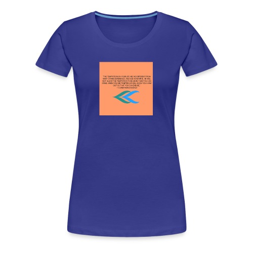 1 Corinthians 10:13 - Women's Premium T-Shirt