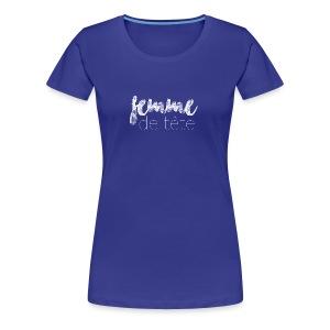 Femme de tête (blanc) - T-shirt premium pour femmes