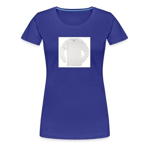 ALL WHITE - Women's Premium T-Shirt