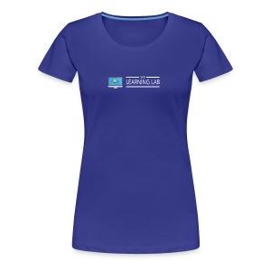 WP Learning Lab Logo - Women's Premium T-Shirt