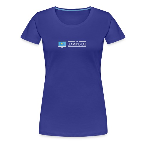 WP Learning Lab Logo - Women's Premium T-Shirt