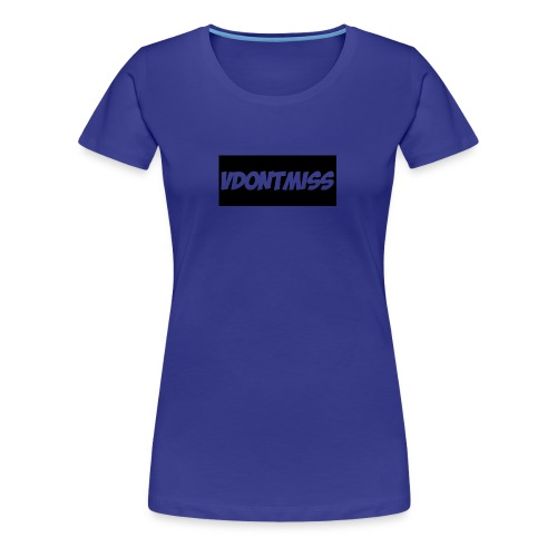 vDontMiss Nation - Women's Premium T-Shirt