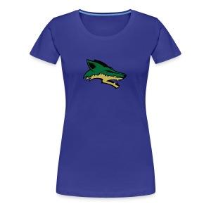 Skyline Coyote - Women's Premium T-Shirt
