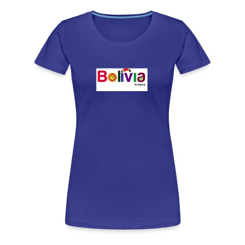 Bolivia te espera - Women's Premium T-Shirt