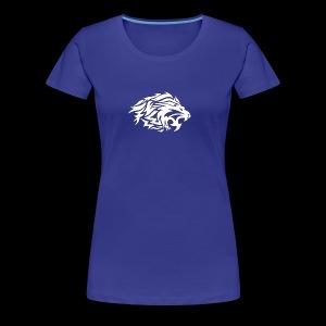 lion white - Women's Premium T-Shirt