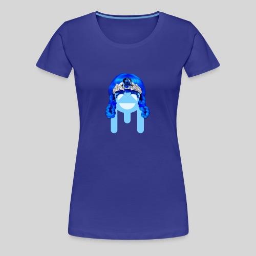 ALIENS WITH WIGS - #TeamMu - Women's Premium T-Shirt