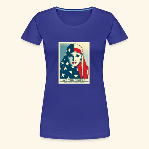 We the people are greater than fear - Women's Premium T-Shirt