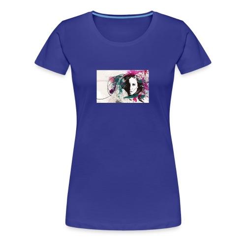 devushka portrait - Women's Premium T-Shirt
