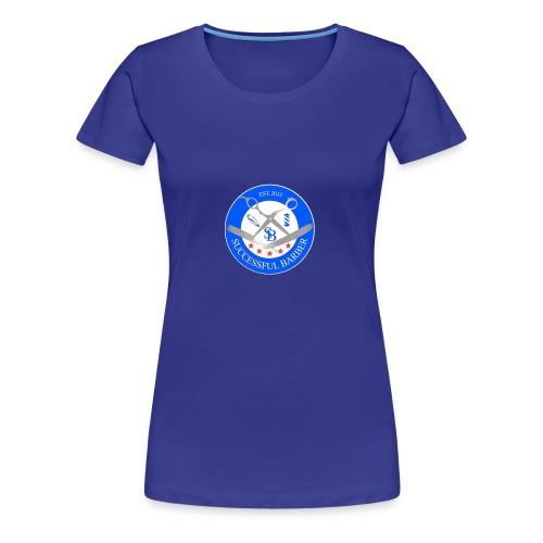 Successful Barber Seal - Women's Premium T-Shirt