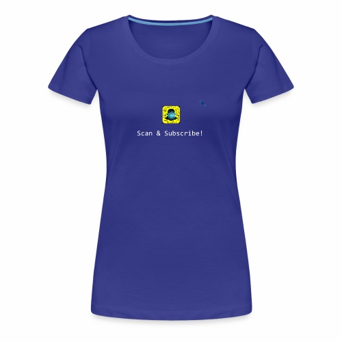 Scan & Subscribe - Women's Premium T-Shirt