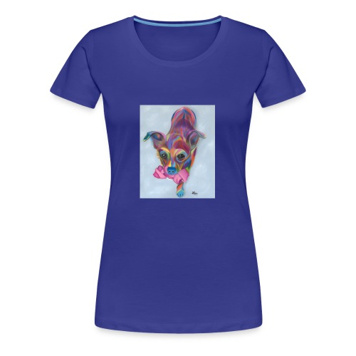 Dixie Dog - Women's Premium T-Shirt
