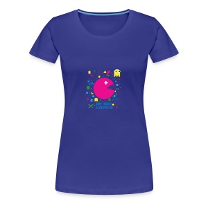 RETRO GAMER - Women's Premium T-Shirt