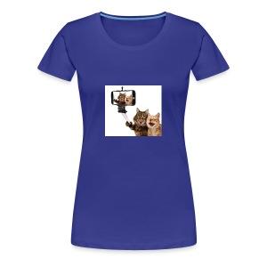 selfi-wallpaper-10928212 - Women's Premium T-Shirt