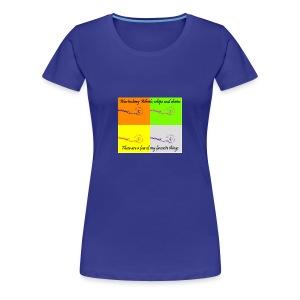 Whips and chains - Women's Premium T-Shirt