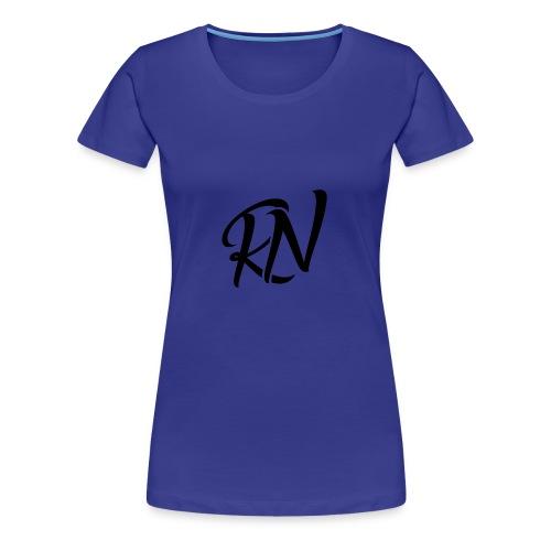 RomanNation Black (RN) - Women's Premium T-Shirt