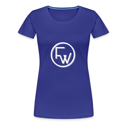 A Funny Wilson Production Logo White - Women's Premium T-Shirt