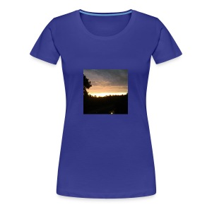 Country side sunset - Women's Premium T-Shirt