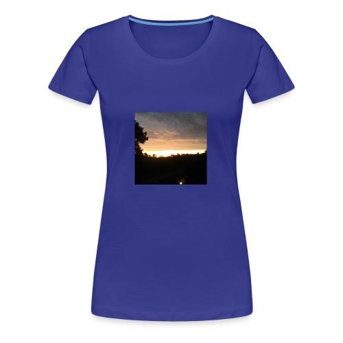 Country side sunset - Women's Premium T-Shirt