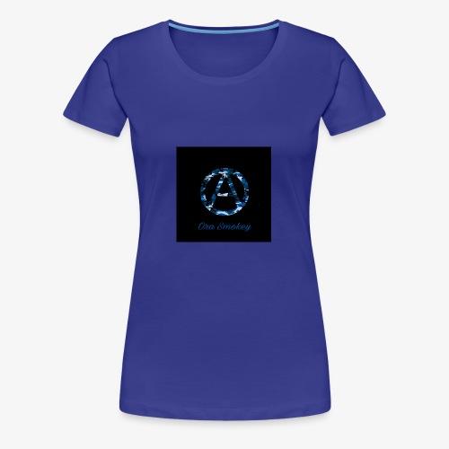 Ora Smokey / Camo Blue - Women's Premium T-Shirt
