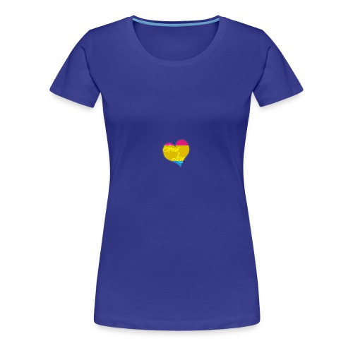 Speak Love Pan - Women's Premium T-Shirt