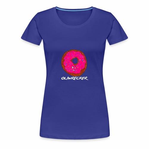 Doughnut Design - Women's Premium T-Shirt