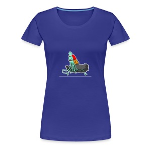 Squidrocket - Women's Premium T-Shirt